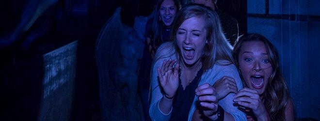 FrostBite haunted house at Busch Gardens Halloween event