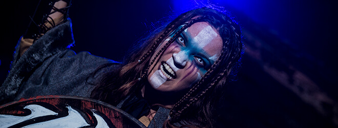 Scare actors during Busch Gardens Halloween event