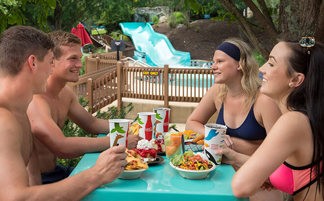 Dining plans at Water Country USA