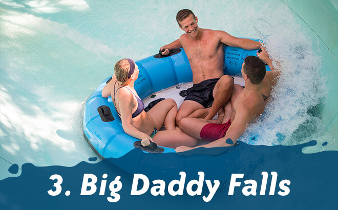 Top 5 Thrill Rides at Water Country USA: #3 Big Daddy Falls