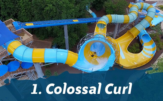 Top 5 Thrill Rides at Water Country USA: #1 Colossal Curl