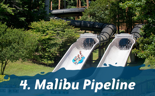 Top 5 Thrill Rides at Water Country USA: #4 Malibu Pipeline