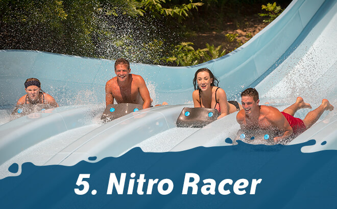 Top 5 Thrill Rides at Water Country USA: #5 Nitro Racer