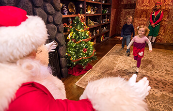 Where to see Santa during your visit to Busch Gardens Christmas Town in Virginia