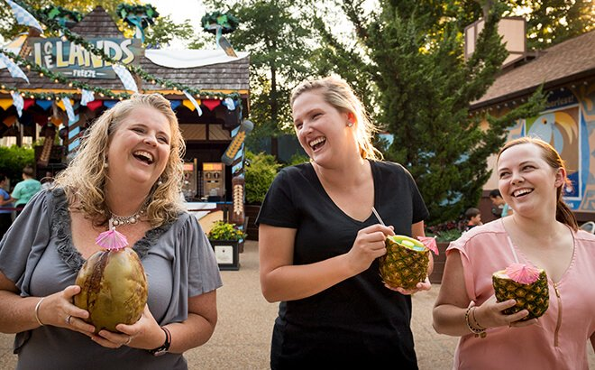 Try international foods and beverages at Food & Wine Festival