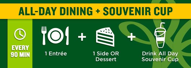 All-Day Dining + Souvenir Cup deal at Busch Gardens Williamsburg
