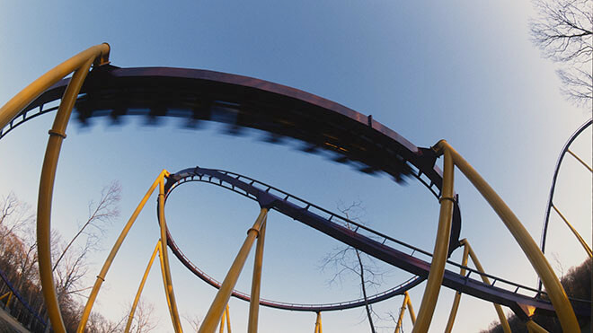 Apollo's Chariot Roller Coaster