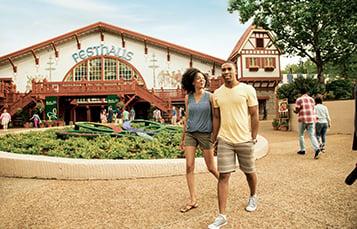 Get your steps in at Busch Gardens Williamsburg