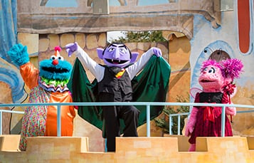 Don't miss the Count's Spooktacular!