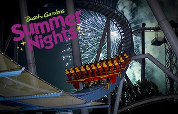 Get Ready for Summer Nights at Busch Gardens Williamsburg!