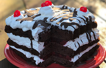 Black Forest Cake Recipe - Busch Gardens Williamsburg