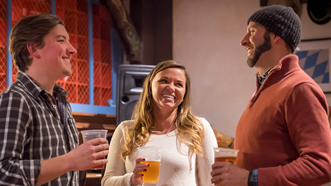 Members and Annual Passholders can enjoy one free 10oz beer per visit at Busch&nbspGardens&nbspWilliamsburg