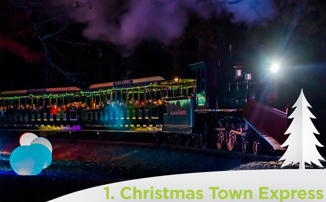 Busch Gardens Williamsburg Christmas Town Express