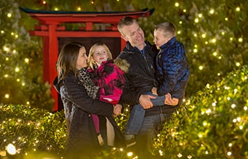 Don't miss the all-new Traditions Tree Maze at Christmas Town!