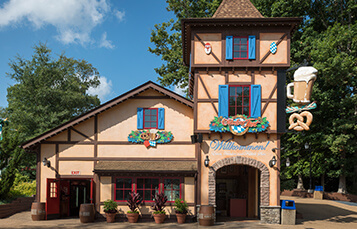 Beste Brezeln und Bier restaurant at Busch Gardens Williamsburg