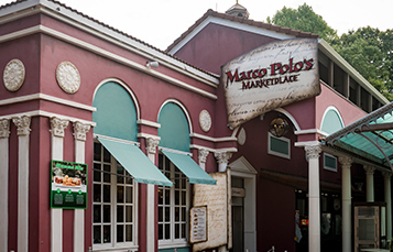 Maro Polo's restaurant at Busch Gardens Williamsburg