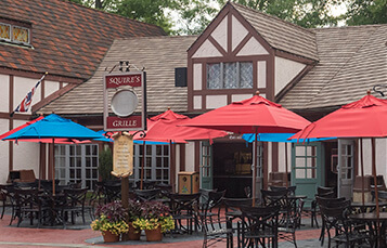 Squire's Grille restaurant at Busch Gardens Williamsburg