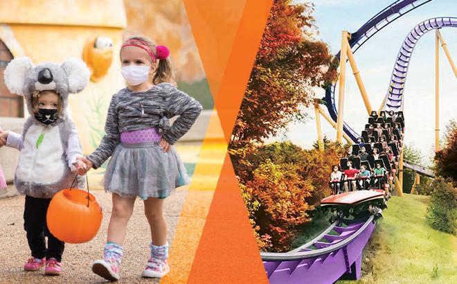 Busch Gardens Halloween Harvest - Treat by Day, Trick by Night