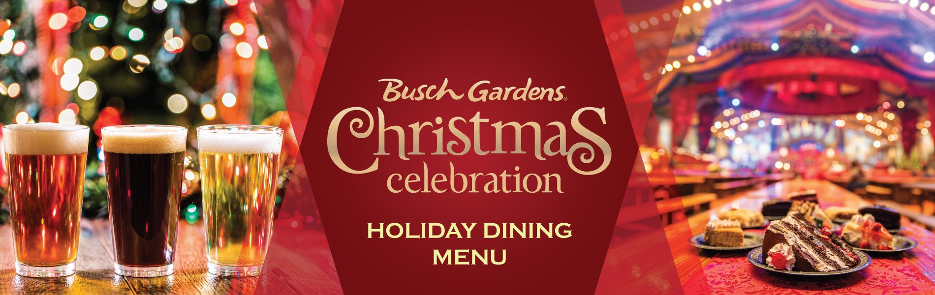 Holiday Dining Menu