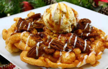Holiday Funnel Cake