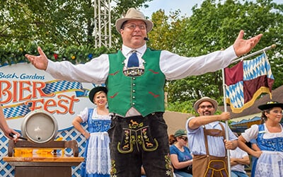 Start this beer festival off with the tapping of the firkin keg at Bier Fest