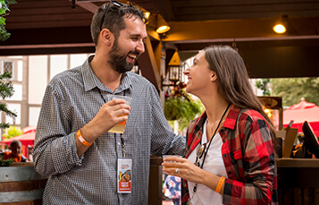 The Cobblestone Ale & Spirits bar is in England at Busch Gardens Williamsburg