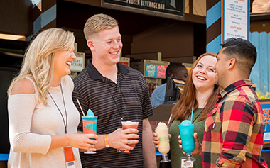 Frost Drinks frozen beverage bar at Busch Gardens Williamsburg