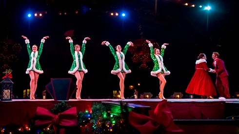 The Christmas spirit is alive in our heartwarming Christmas Town shows