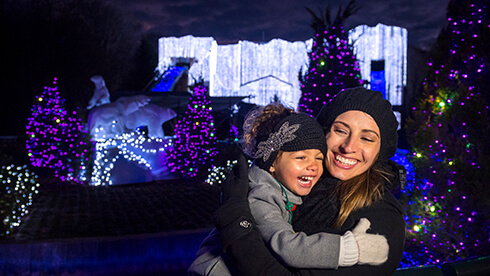 Christmas Town in Virginia is one of the largest light displays in North America