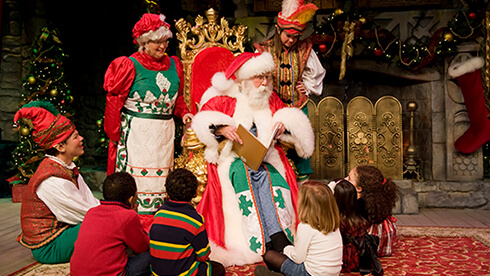 Bring the family together for a fun holiday dining experience at Christmas Town