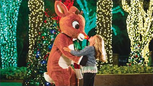 Meet Rudolph at Christmas Town