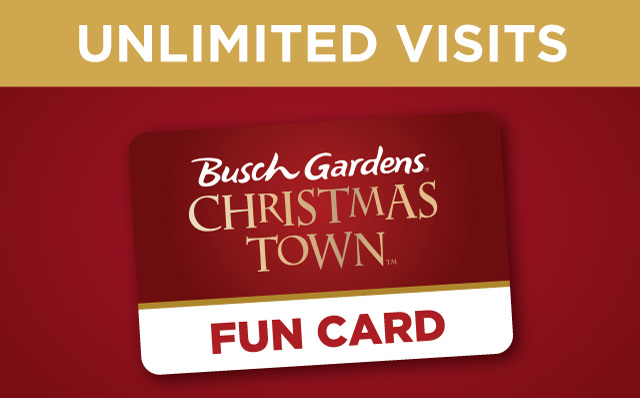 Unlimited Visits with a Christmas Town Fun Card