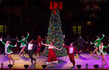 Deck the Halls Christmas show at Busch Gardens