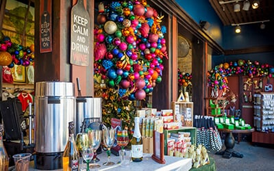 Holiday shopping at Busch Gardens Christmas Town