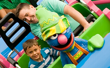 Sesame Street Forest of Fun kids play area