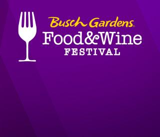 Busch Gardens Food & Wine Festival Logo
