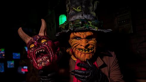Jack's Nightmare Room - Halloween escape room at Busch Gardens Williamsburg