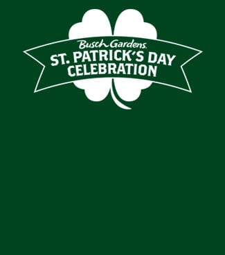 St. Patricks Day Celebration at Busch Gardens Williamsburg
