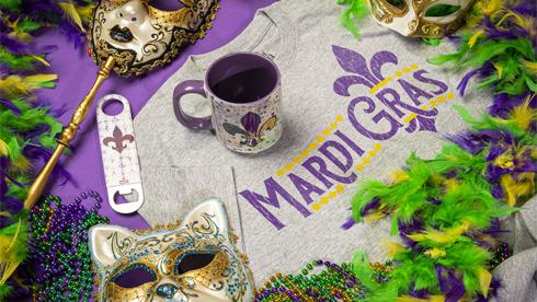 Mardi Gras Merchandise