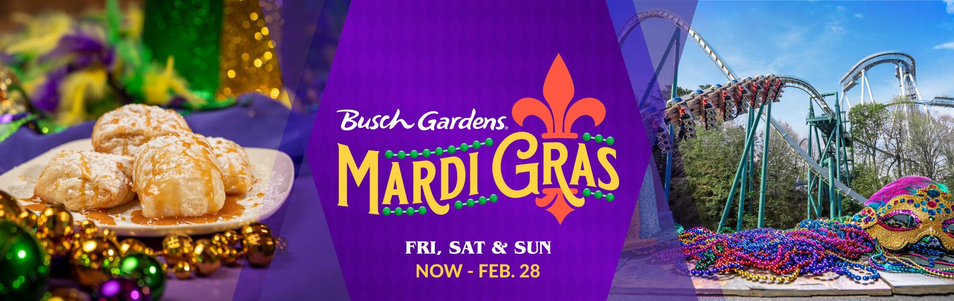 Busch Gardens Mardi Gras Event