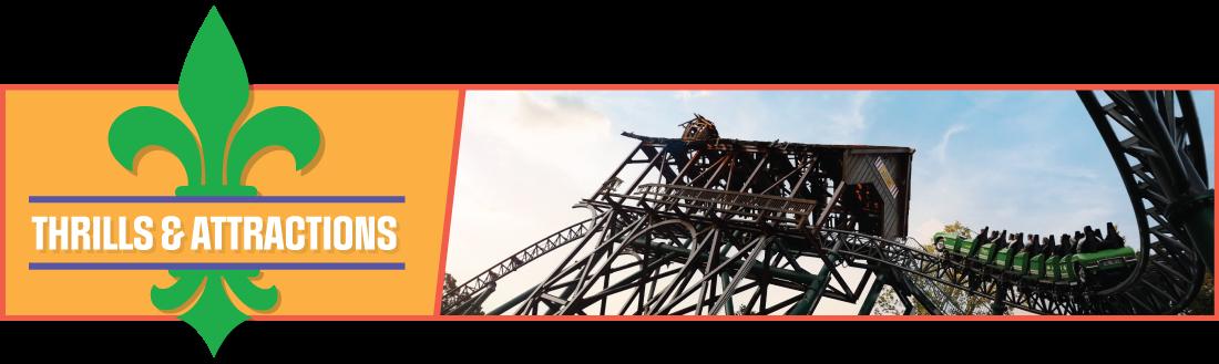 Rides & Coaster at Mardi Gras
