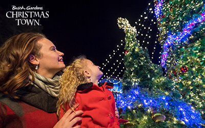 See millions of Christmas lights at Christmas Town