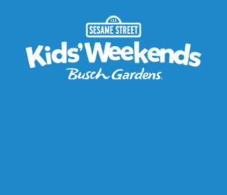 Sesame Street Kids' Weekends at Busch Gardens Williamsburg