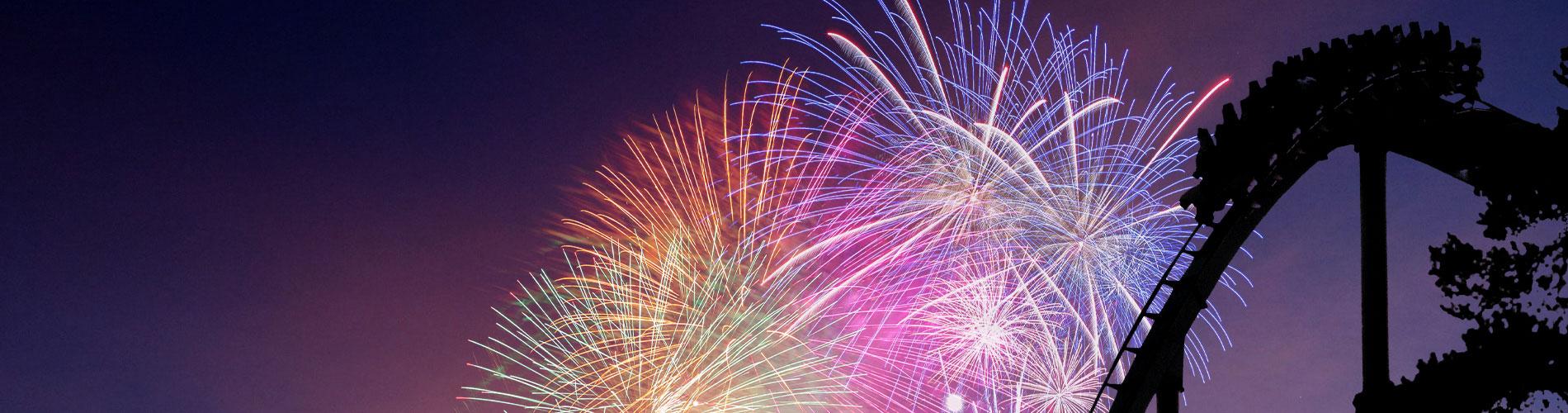 Fireworks at Summer Nights