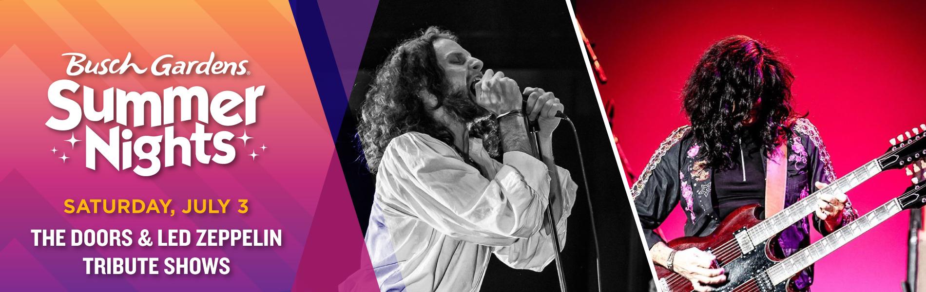 The Doors & Led Zepplin Tribute Show