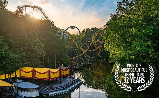 Busch Gardens makes the ride experience fun for coaster enthusiasts and families alike.
