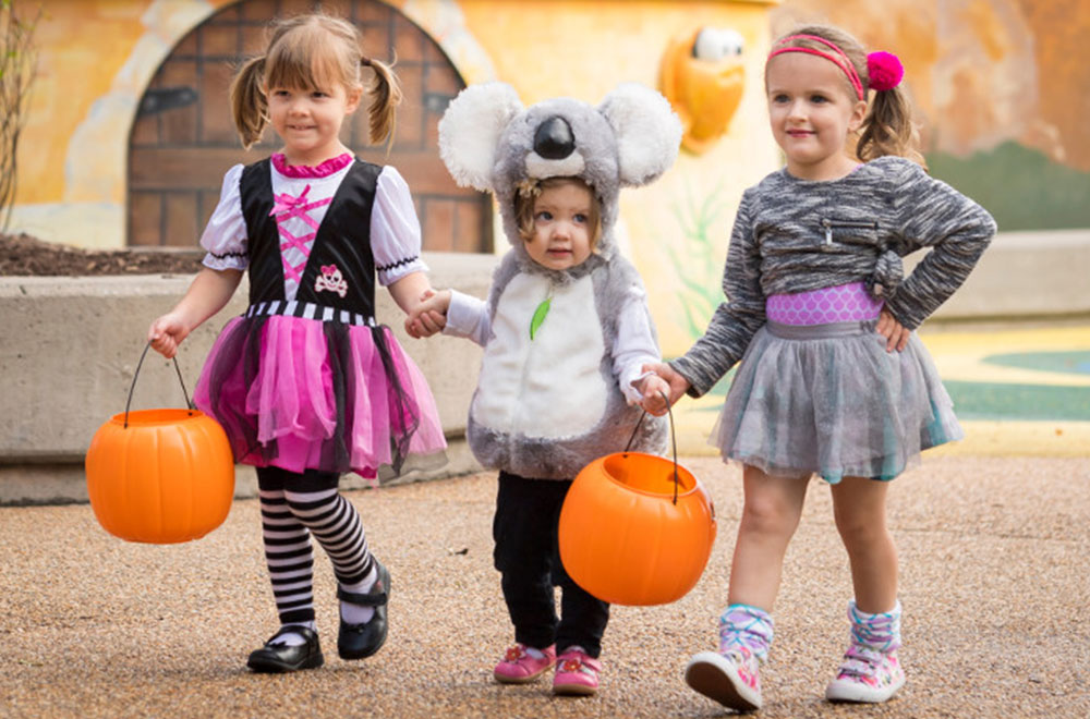 Kids can safely trick-or-treat at Busch Gardens Williamsburg
