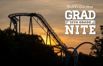 Busch Gardens 12 Grade Grad Nite