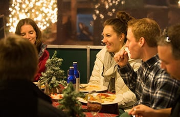 Host your company holiday party at Christmas Town