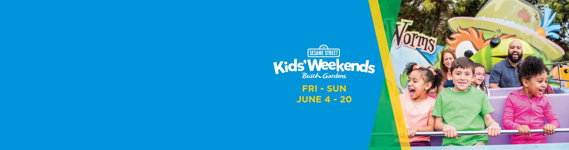 Busch Gardens Williamsburg Sesame Street Kids' Weekends